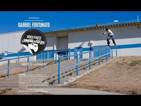 Vídeo Parte CemporcentoSKATE: Gabriel Fortunato