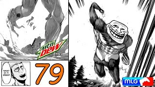 Attack on titan manga chapter 79 reaction + review - beastly
