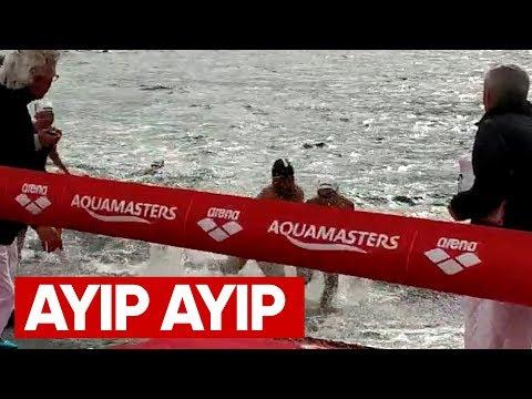 Yüzme Yarışında, Büyük Ayıp. Sporcudan önce İnsan Olmak Lazım