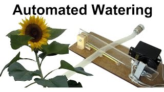 Homemade Automated Watering System for Balcony Plants or how engineers water plants