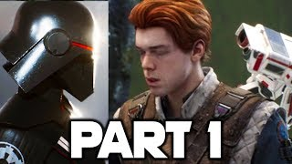 Star Wars JEDI FALLEN ORDER Gameplay Walkthrough Part 1 - Intro - FULL GAME! (PS4 PRO/XBOX ONE X)