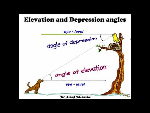 angle-of-elevation-and-depression