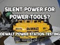 No Generator? No Problem! Dewalt Power Station Review and Testing!