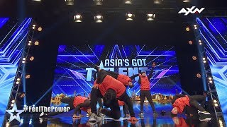 Power Storm Judges' Audition Epi 4 Highlights | Asia's Got Talent 2017