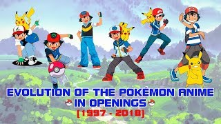 Evolution of the Pokémon Anime in Openings (1997-2018) MP3