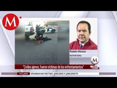 Civiles ajenos a emboscadas en Nuevo Laredo murieron por fuego cruzado: Marina
