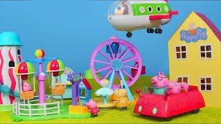 Peppa Wutz Unboxing deutsch: Neue Spielsachen & Spielzeugautos im Zusammenschnitt für Kinder