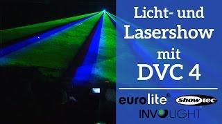 Licht- und Lasershow mit Daslight 4 DVC 4 | Gig Showcase