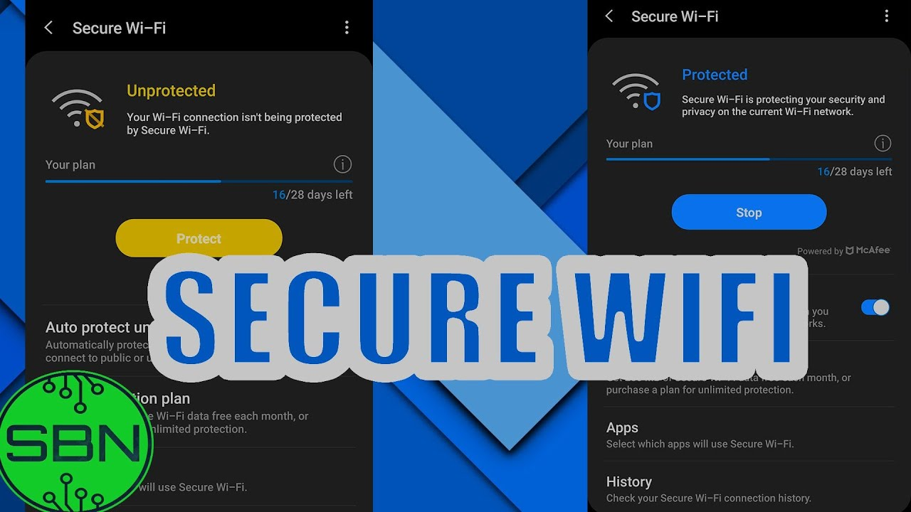Secure Wifi | Samsung Quick Tips