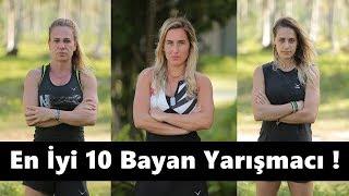 Survivor Tarihinin En İyi 10 Bayan Yarışmacısı !