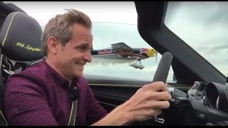 Rennen Porsche 918 Spyder vs Kunstflieger   Matthias Malmedie