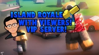 🔴ROBLOX ISLAND ROYALE/STRUCID (VIP SERVER) (WITH VIEWERS)🔥(ROAD TO 1.1k)