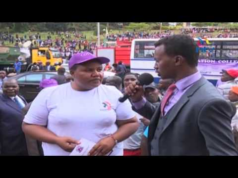Workers react to President Uhuru Kenyatta's Labour Day 2017 announcements