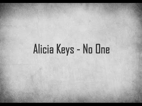 Alicia Keys - No One ( Audio )