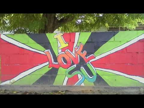 Awareness By Wall Art Project - Stg. Young Help Suriname