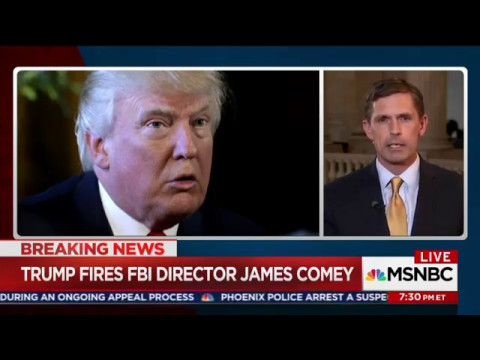 Heinrich On Hardball To Discuss Comey Firing & Trump Russia Investigation