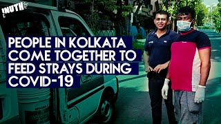 People In Kolkata Come Together To Feed Strays During COVID-19
