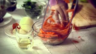 Корейский салат с кальмарами. Кухня против школы