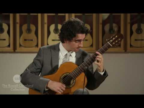 Manuel Ramirez 1912  guitar played by Taso Comanescu