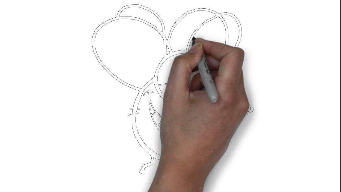 Comment dessiner une mouche de bande dessin e blanc youtube - Comment se debarrasser de mouches ...