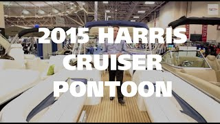 Check Out The Harris Cruiser Pontoon