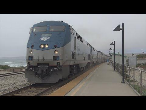 Railfanning Lompoc - Surf - 7/5/17