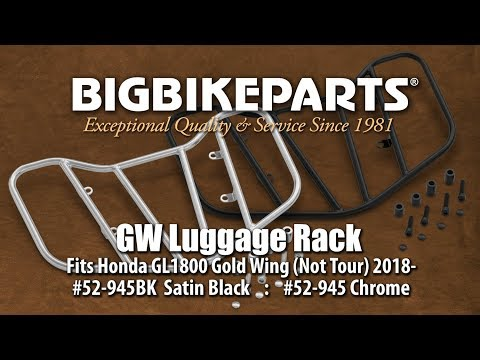 Luggage Rack for Honda Gold Wing GL1800 (non-tour) 2018-