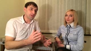 Уроки английского языка от Евгении Кудаковой. Школа Fast English. Интервью с Виктором