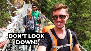 Highest Bridge On The EBC! | Everest Base Camp Trek Day 2 | Phakding To Namche Bazaar