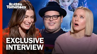 Download lagu 'Frozen II' Stars Kristen Bell, Idina Menzel, and Josh Gad Fantasy-Cast a Live-Action 'Frozen' Movie