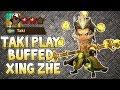 Taki Play Buffed Xing Zhe !!! - Summoners War
