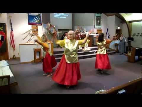 Baruch Adonai~El Shaddai Medley ~ Tree of Life Davidic Dancers ~ Shavuot (5/26/12)
