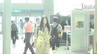 [tvdaily] ★고소영★ 출국, 두 아이 엄마의 완벽한 공항패션