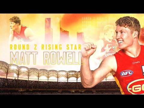 Round 2 Rising Star: Matt Rowell