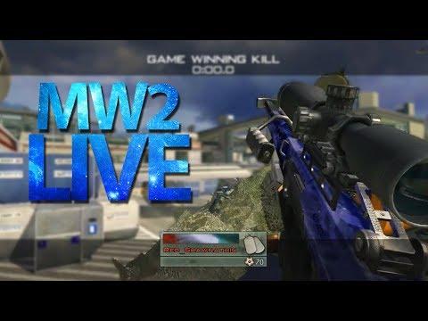 MW2 FFA Trickshotting LIVE!