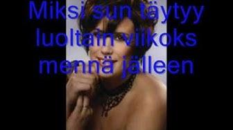 Anniina Mattila - Musta maanantai (Lyrics)
