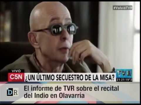 El informe de TVR sobre el recital del Indio en Olavarría