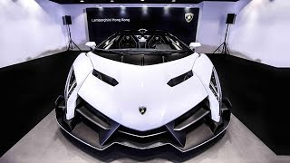 Lamborghini Veneno Roadster Arrives At A Hong Kong Dealership