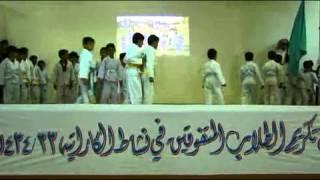 فعاليات حفل الكاراتية بمدارس الرواد بخميس مشيط