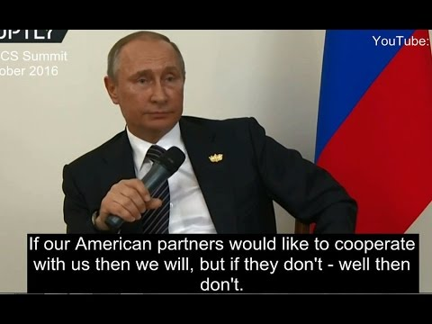 "The West can ""get stuffed"" - Putin"