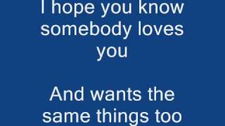 Repeat youtube video My Wish Lyrics | Rascal Flatts