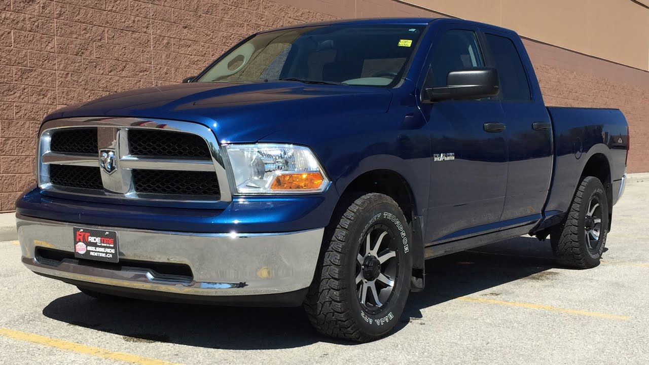 2010 dodge ram 1500 slt 4wd wheel tire package great value youtube. Black Bedroom Furniture Sets. Home Design Ideas