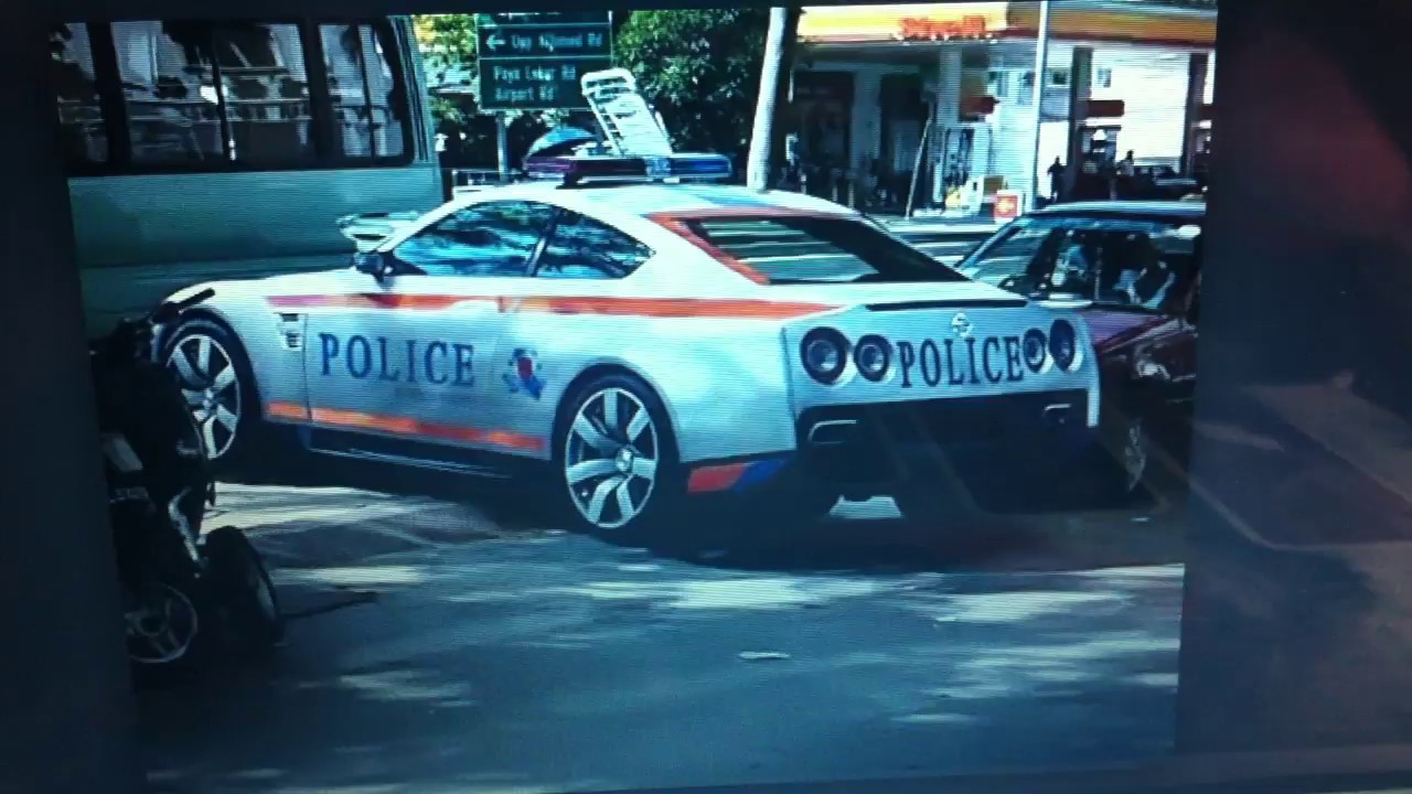 Singapore Nissan GT R Police Car Is Fake