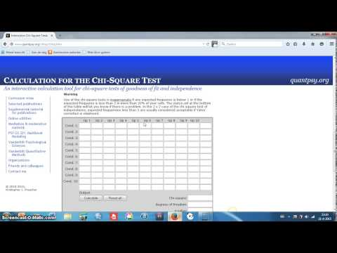 Using JASP for the Chi Square Test of Independence from YouTube · Duration:  2 minutes 36 seconds