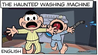 The Haunted Washing Machine | Monica and Friends