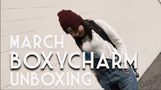 March Boxycharm Opening & Try On!