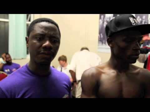 RICHARD COMMEY CLAIMS COMMONWEALTH TITLE WITH UD WIN OVER GARY BUCKLAND - POST-FIGHT INTERVIEW