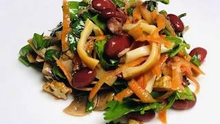 Салат с копченым сыром | Smoked Cheese Salad