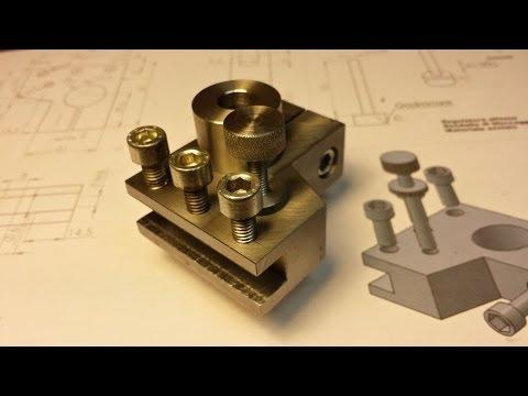 Costruiamo una Torretta Regolabile per il nostro Tornio - YouTube