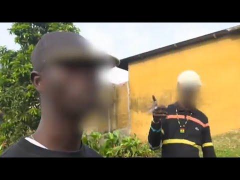 """La riposte des habitants d'Abidjan contre le """"gang des microbes"""""""